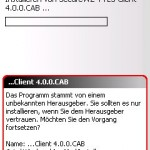 SecureWS installieren (2)
